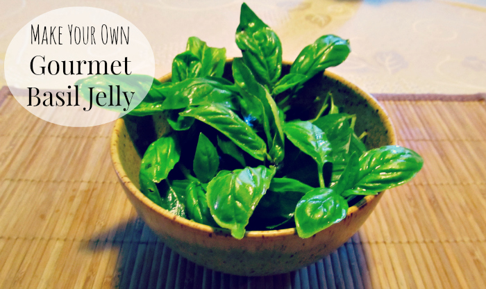 Make Your Own Basil Jelly