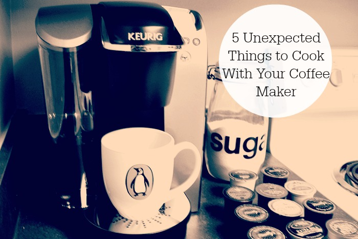 Unexpected Things You Can Make With Your Coffee Maker