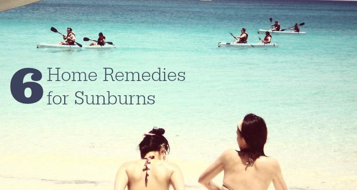 6 Home Remedies for Sunburns